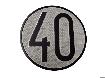 Señal 40km/h